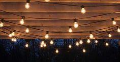 An Ideas About Patio & Lighting: Drape patio lights from pergolas #Summer #DIY