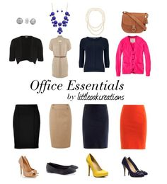 Office / Career Clothes Essentials Office Outfits, Outfits For Teens, Cute Outfits, Work Fashion, Fashion Design, Office Fashion, Career Clothes, Work Clothes, Work Looks