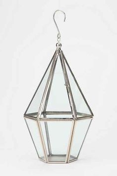 Faceted Hanging Terrarium - Urban Outfitters $29