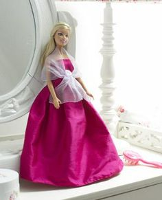 Doll's clothes to make: ballgown - Toys to make - free sewing patterns - Craft ideas for kids - Craft - allaboutyou.com
