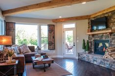 Fantastic Two-Story Family Room