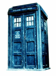 The TARDIS (Time and Relative Dimensions in Space): A time machine, larger inside than outside, able to blend into its surroundings, which confers upon its passenger language skills and permits the use of no weapons...perfect for intergalactic travel.