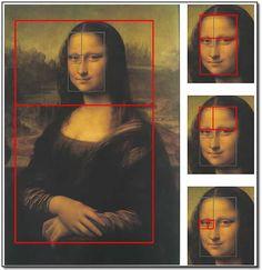 Geometria Sagrada – Proporção Áurea Mona Lisa : More Pins Like This At : FOSTERGINGER @ Pinterest.