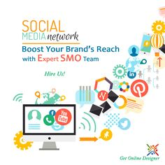 Social Media Network boost your brand's reach with #ExpertSMO team Hire Us.+1(214)3770410 #SMO #socialmediaoptimization #marketing #smoservice #InternetMarketing #onlineMarketing #smosolution