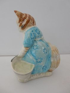 Royal Albert Beatrix Potter Ribby and the Patty Pan Cat - BP6a Figurine | eBay