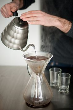 #Hario #Kone #Chemex >>Made for each other!