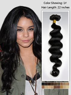 Black Indian Remy Hair Extension
