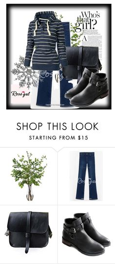 """""""Rosegal #6"""" by aaidaa ❤ liked on Polyvore featuring moda, Post-It, Diane James ve vintage"""