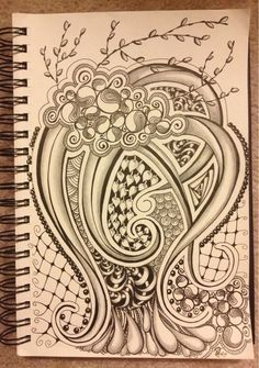 I would like to incorporate pussy willow branches into my design. Zentangle Art style