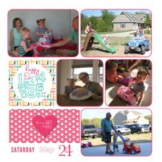 Stampin' Up! Project Life My Digital Studio ; 2014 PL memorial week-003