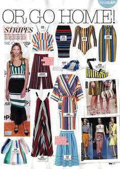 Check out Liquorish Online dresses in Now Magazine!  Our skirt is featured in a section on stripes!