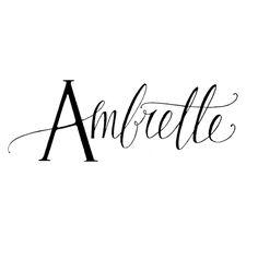 Ambrette | ornamelle.com