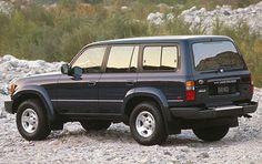 1996 Toyota Land Cruiser 4 Dr STD 4WD Wagon