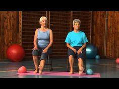 Ploska nohy - Cvičením proti bolesti - 8. díl - YouTube