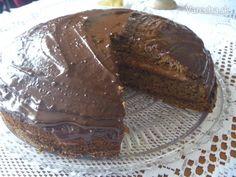Čokoládovo - pohankový dort
