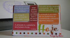 Silhouette e Scrap by Grice: Cartão Pop Up para o dia do amigo
