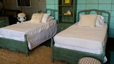 Bassett Twin Bedroom set at Charee's Emporium Annie Sloan Chalk Paint