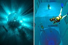 Nemo 33 — самый глубокий бассейн в мире