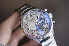 PuristSPro - One of the more silent additions at Baselworld was the Zenith El Primero Sport Skeleton . Silent because it did not come with the fanfare of a press releas Baselworld 2016, Breitling, Skeleton, Omega Watch, Hands, Concept, Sport, Accessories, Deporte