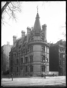 The Schmidt mansion, 807 Fifth Avenue at East 62nd Street, New York City, ca. 1912.