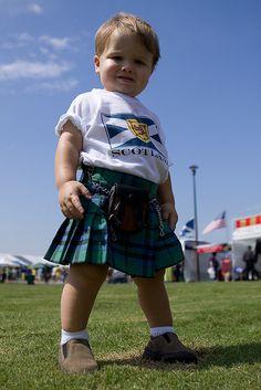 Boy in a Kilt - Tulsa Scottish Games