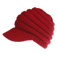 d802a6558d9 Ponytail Winter Warm Knit Cap