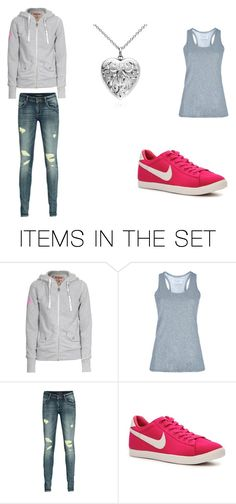 """""""shower"""" by potterfiona ❤ liked on Polyvore featuring art and sneakers"""