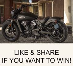 Free Indian Scout Bobber Motorcycle To Be Won - Enter Contest Win a 2018 Indian