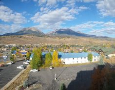 Silverthorne Colorado Arrived at night and woke up to this...