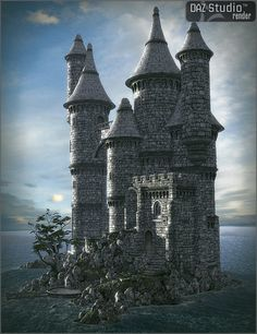 Worlds Of Fantasy : Island Castle