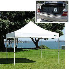 //Caravan Traveler 10 x 10 Canopy Package Deal + 4 Sidewalls (58 lbs et al) $269.95 (free shipping)