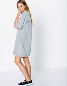 PLUSH DRESS - DRESSES - WOMAN - PULL&BEAR United Kingdom