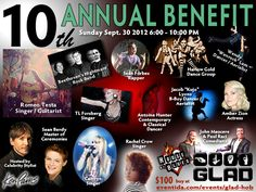 #Charity #Celebrity Hairstylist @KenPaves to Host 10th Annual #GLAD Benefit in Support of the Greater Los Angeles Agency on #Deafness on Sept 30 at House of Blues West Hollywood