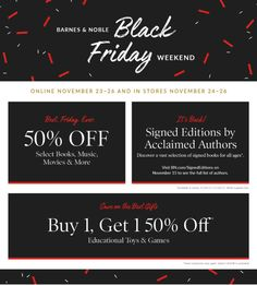 Barnes & Noble Black Friday 2017 Ad - Do you know what's in and what's hot in the Barnes & Noble for this Black Friday? Here are Barnes & Noble ad on Black Friday 2017 Black Friday 2019, Black Friday Shopping, Ways To Save Money, How To Make Money, Store Ads, Online Shopping Deals, Book Signing, Book Gifts, Textbook