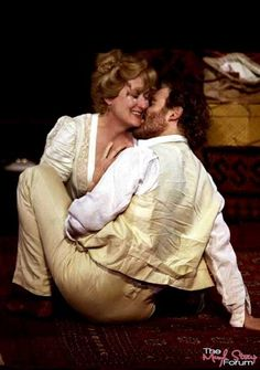 """Meryl Streep and Kevin Kline in """"The Seagull"""" (Shakespeare in the Park), 2001"""