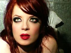 """""""It's definitely an intrinsic part of my makeup that makes me want to see black when everyone else is seeing white.""""--Shirley Manson"""