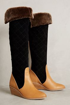 414bf55cd8f Schuler  amp  Sons Penny Quilted Boots  anthrofave  anthropologie Wedge  Boots