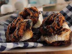 Samoa S'mores Recipe : Trisha Yearwood : Food Network - FoodNetwork.; OMG remind me next time to save girl scout cookies!!!