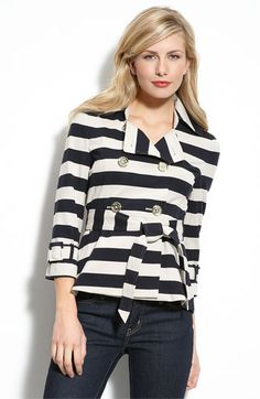 kate spade new york bowed mini trench...another trench that I love