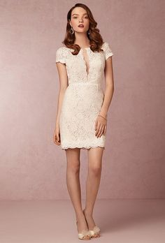 """Kendall"" dress, $300, Encore by Watters available at BHLDN"