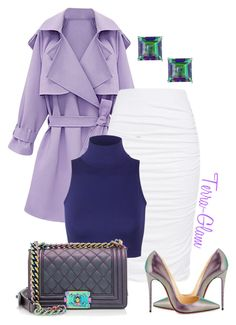 """Spring Is Coming Soon!"" by terra-glam ❤ liked on Polyvore featuring Chanel and Christian Louboutin"
