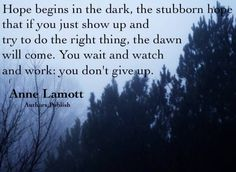 Wait And Watch, Anne Lamott, Inspiring Things, Humility, Don't Give Up, Just Me, Spiritual Quotes, Great Quotes, Favorite Quotes