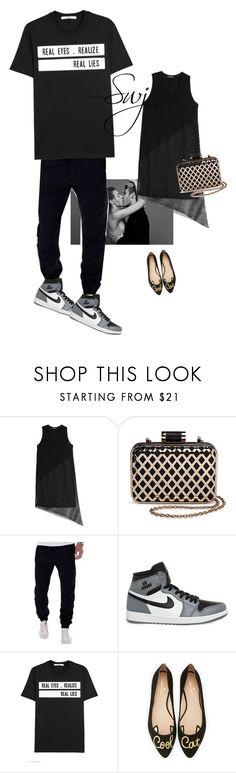"""""""💙"""" by sanmya ❤ liked on Polyvore featuring DAMIR DOMA, Tevolio, NIKE, Givenchy and Kate Spade"""