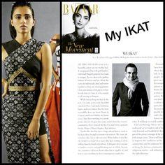NYC based Bibhu Mohapatra showcase #Odisha #Pasapalli IKAT Fashion