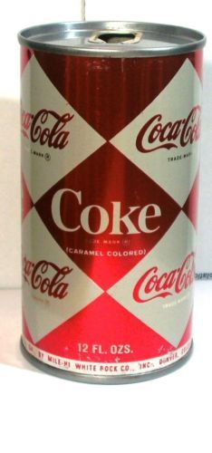1965 Coke Soda Vintage Pop Can