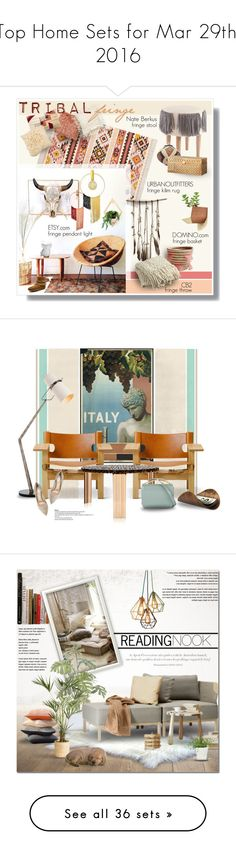 """Top Home Sets for Mar 29th, 2016"" by polyvore ❤ liked on Polyvore featuring interior, interiors, interior design, home, home decor, interior decorating, Magical Thinking, Johanna Howard, Calypso St. Barth and Minnetonka"