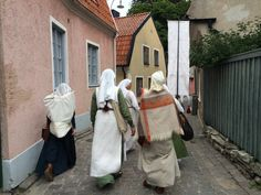 Medieval week in August. Visby