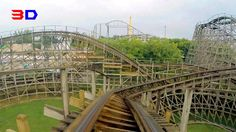 Outlaw 3D front seat on-ride HD POV @60fps Adventureland