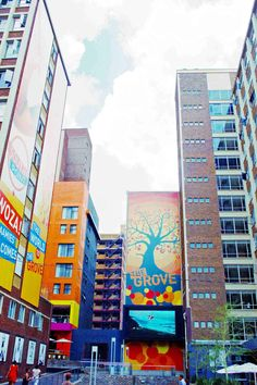 Braamfontein. Eclectic city colour.