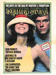 Karen Carpenter and Richard Carpenter on the July 1974 cover talking about life after their band, the Carpenters, sold 25 million gold records. Karen Carpenter, Richard Carpenter, The Carpenters, Dr Hook, Rolling Stone Magazine Cover, Karen Richards, Mundo Musical, Rolling Stones Logo, The Cardigans